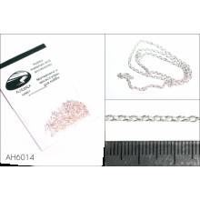 AH6014 Цепь плетеная якорная - звено 2,5х2,0 мм (медь), длина 50 см