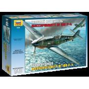 4806 Звезда Немецкий истребитель Мессершмитт Bf-109F4, 1/48