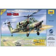 7246 Звезда Российский ударный вертолёт Ми-28А, 1/72