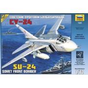7265 Звезда Советский фронтовой бомбардировщик Су-24, 1/72