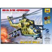 7293 Звезда Советский ударный вертолет Ми-24В/ВП Крокодил, 1/72