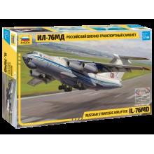 7011 Звезда Российский военно-транспортный самолет Ил-76МД, 1/144