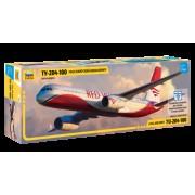 7023 Звезда Пассажирский авиалайнер Ту-204-100, 1/144