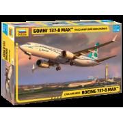7026 Звезда Пассажирский авиалайнер Боинг 737-8 MAX, 1/144