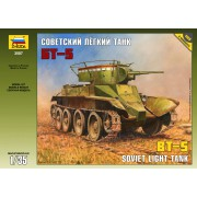 3507 Звезда Советский лёгкий танк БТ-5, 1/35