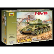 3533 Звезда Советский средний танк Т-34/85, 1/35