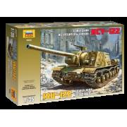 3534 Звезда Советский истребитель танков ИСУ-122, 1/35