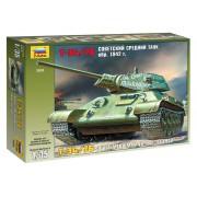3535 Звезда Советский средний танк Т-34/76 (обр. 1942 г.), 1/35