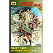 3544 Звезда Советский танковый десант (1943-1945 г.), 1/35