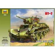 3545 Звезда Советский лёгкий танк БТ-7, 1/35