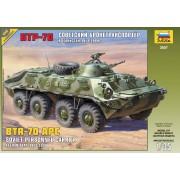 3557 Звезда Советский бронетранспортер БТР-70 (Афганская война 1979-1989), 1/35