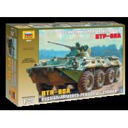 3560 Звезда Российский бронетранспортер БТР-80А, 1/35