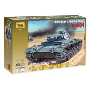 3571 Звезда Немецкий средний танк T-III F, 1/35