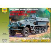3572 Звезда Немецкий бронетранспортер Ханомаг Sd.Kfz 251/1 AusF.B, 1/35