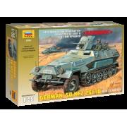 3588 Звезда Немецкий бронетранспортер Sd.Kfz.251/10 AUSF B с 37-мм орудием Ханомаг, 1/35