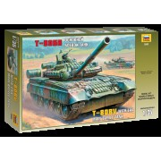 3592 Звезда Основной боевой танк Т-80БВ, 1/35