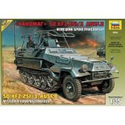 3604 Звезда Немецкий бронетранспортер Ханомаг SD.KFZ.251/3 AUSF B, 1/35