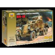 3617 Звезда Советский бронеавтомобиль БА-10, 1/35