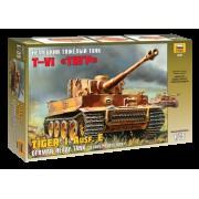 3646 Звезда Немецкий тяжелый танк T-VI Тигр, 1/35