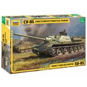 3690 Звезда Советский истребитель танков СУ-85, 1/35
