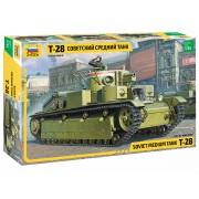 3694 Звезда Советский средний танк Т-28, 1/35
