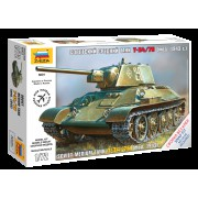 5001 Звезда Советский средний танк Т-34/76 (мод. 1943 г.), 1/72