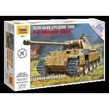 "5010 Звезда Немецкий средний танк T-V ""Пантера"" Ausf.D, 1/72"