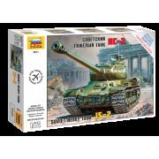 5011 Звезда Советский тяжелый танк ИС-2, 1/72