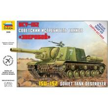 5026 Звезда Советская САУ ИСУ-152 Зверобой, 1/72