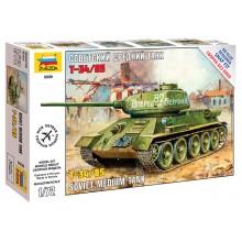 5039 Звезда Советский средний танк Т-34/85, 1/72