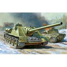 5044 Звезда Советский истребитель танков СУ-100, 1/72