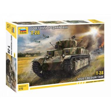 5064 Звезда Советский средний танк Т-28, 1/72