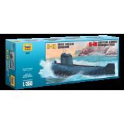 9025 Звезда Подводная лодка К-19, 1/350