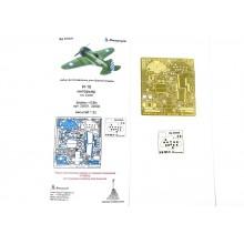 МД 032202 Микродизайн И-16 тип 24/28 от ICM интерьер, 1/32