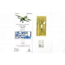 МД 032204 Микродизайн И-153 Чайка. Интерьер (ICM), 1/32