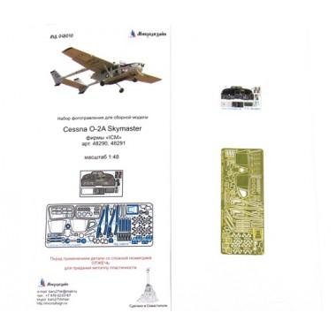 МД 048010 Микродизайн Cessna O-2A Skymaster (ICM), 1/48