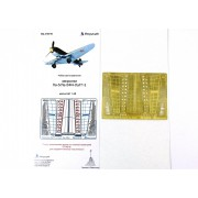 МД 048216 Микродизайн Закрылки ЛаГГ-3 от ICM, Ла-5 и Ла-5ФН от Звезды, 1/48