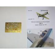 МД 072202 Микродизайн Фототравление для модели Як-3 от Звезды, 1/72