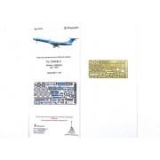 МД 144215 Микродизайн Набор фототравления для модели Ту-134 от Звезды, 1/144