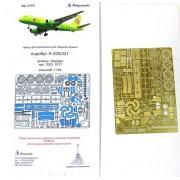 МД 144210 Микродизайн Набор фототравления для модели Аэробус А 320/321 от Звезды, 1/144