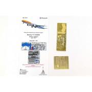 МД 144217 Микродизайн Набор фототравления для модели Боинг-777-300 (Звезда), 1/144
