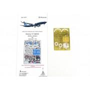МД 144218 Микродизайн Набор фототравления для модели Боинг-737-8 MAX (Звезда), 1/144