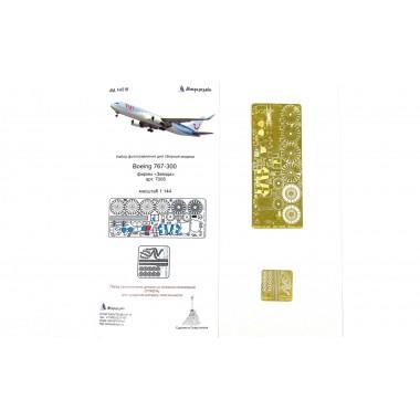 МД 144219 Микродизайн Набор фототравления для модели Boeing 767-300 (Звезда), 1/144