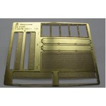 МД 035202 Микродизайн Фототравление Сетки для Т-34/76 1940-41 гг. от Звезды, 1/35
