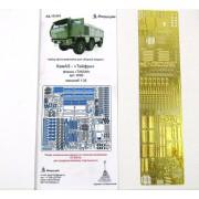 МД 035263 Микродизайн Фототравление для модели КАМАЗ-Тайфун от ТАКОМ, 1/35