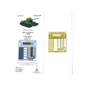 МД 035293 Микродизайн Фототравление Решётки и сетки МТО танка Т-34/85 от Звезды, 1/35