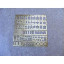 МД 100202 Микродизайн Трафарет для нанесения расшивки N 1