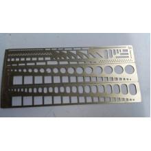 МД 100203 Микродизайн Трафарет для нанесения расшивки N 2
