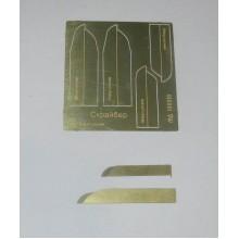 МД 100210 Микродизайн Скрайбер инструмент для нанесения расшивки