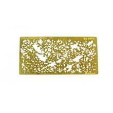 МД 100214 Микродизайн Лекало для имитации ржавчины тип 1